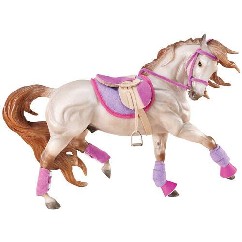 Breyer English Riding Set Hot Colors Collectible Horse Figure