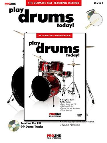 Proline Play Drums Today Book DVD Pack