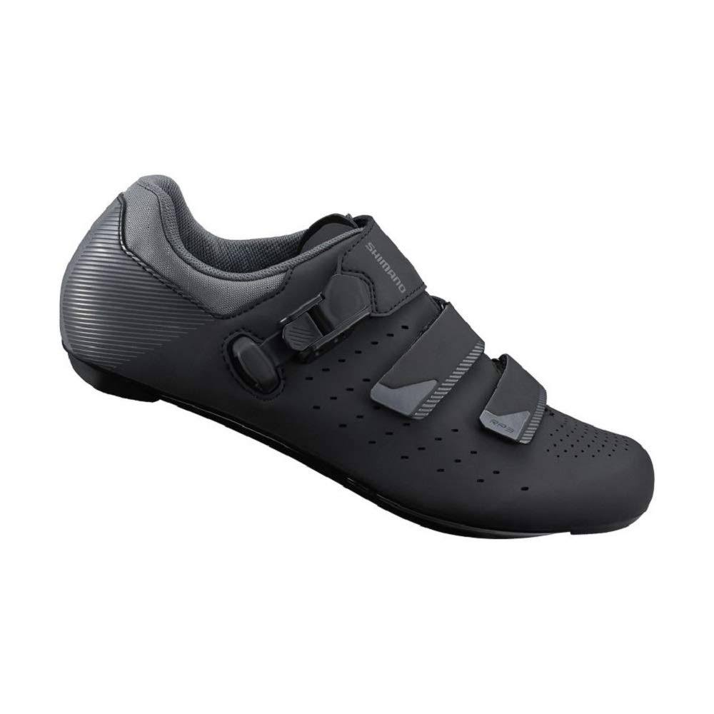 Shimano Men's SH-RP301 Road Bike Cycling Shoes - Black, 43 EU