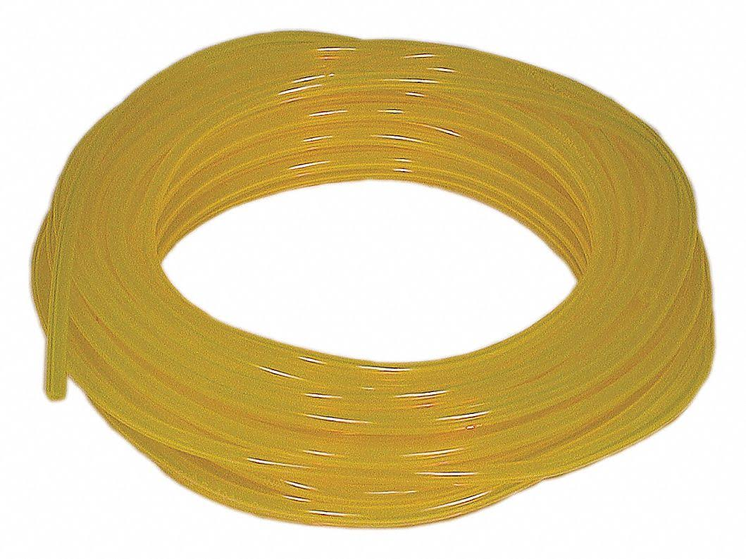 "Stens 115-327 Tygon Fuel Line - Yellow, 3/16"" x 50'"