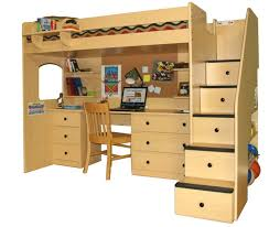 desks how to build a loft bed with desk deskss