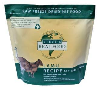Steve's Real Food Freeze Dried Diet - Lamu Nuggets Dog Food - 1.25lb