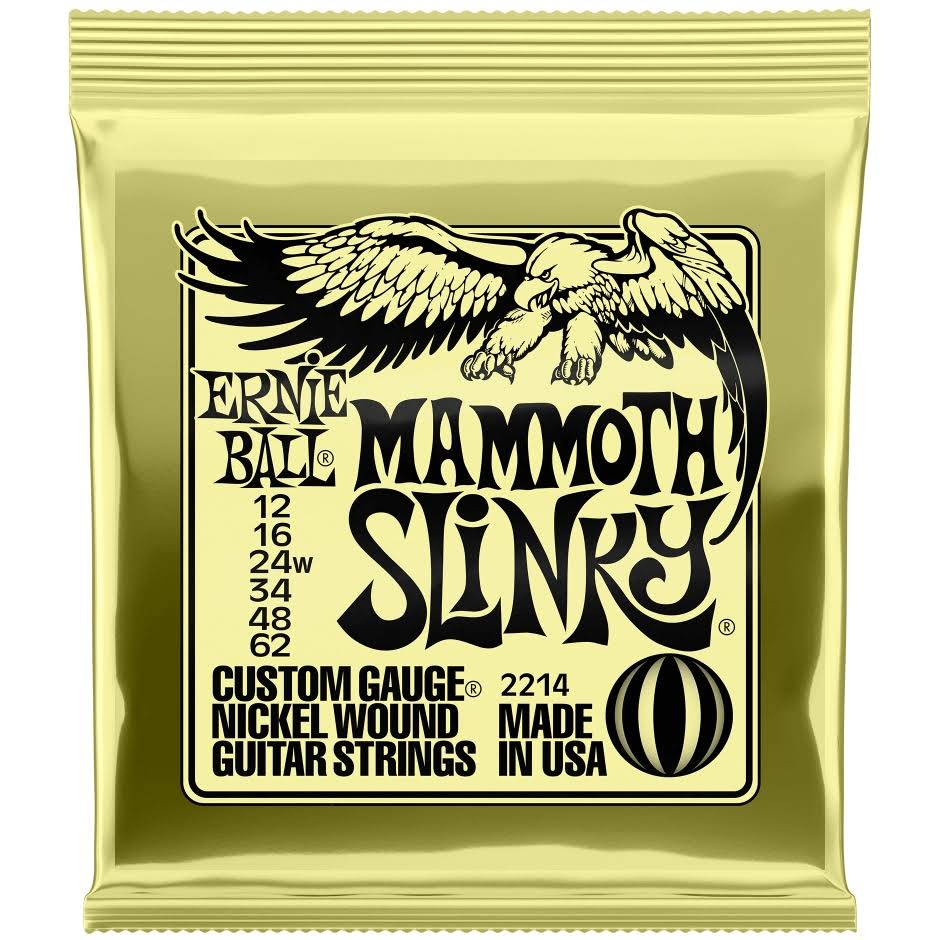 Ernie Ball 2214 Mammoth Slinky Electric Guitar Strings