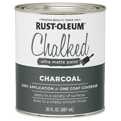 Rust-Oleum Ultra Matte Interior Chalked Paint - 30oz, Charcoal