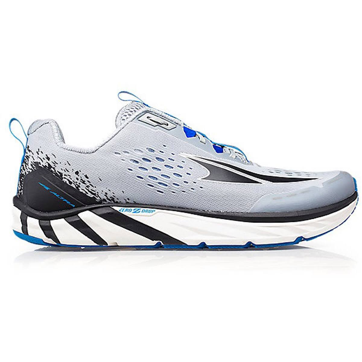 Altra Torin 4 Running Shoe Men's, Gray/Blue, 13