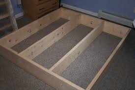 how to build a queen size platform bed frame with storage the