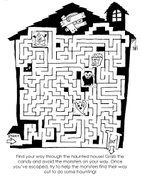 Haunted Halloween Crossword by 28 Halloween Word Maze Maze Halloween Pumpkins And Maze