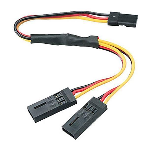 Hitec Y-Harness - 6""