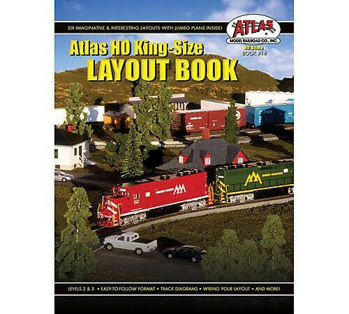 Atlas HO Kingsize Plan Book