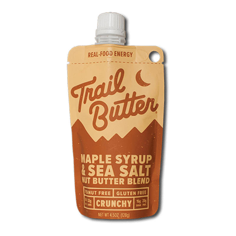 Trail Butter - 4.5 oz Pouch - Maple Syrup & Sea Salt