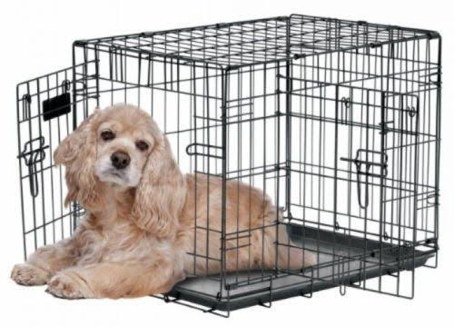 Precision Pet ProValu 2 Door Crate - Black