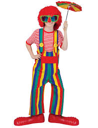 Halloween Express Charlotte Nc by Unisex Striped Overalls Clown Costume Kids Costumes