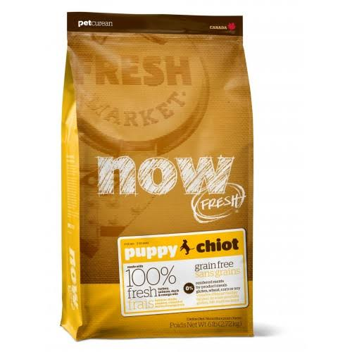 Now! Fresh Grain Free Puppy Dry Dog Food, 6 lb