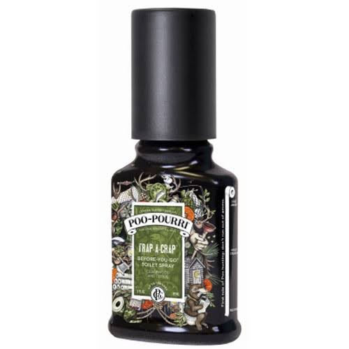 Poo-Pourri Genuine Trap-A-Crap Before You Go Toilet Spray - 2oz