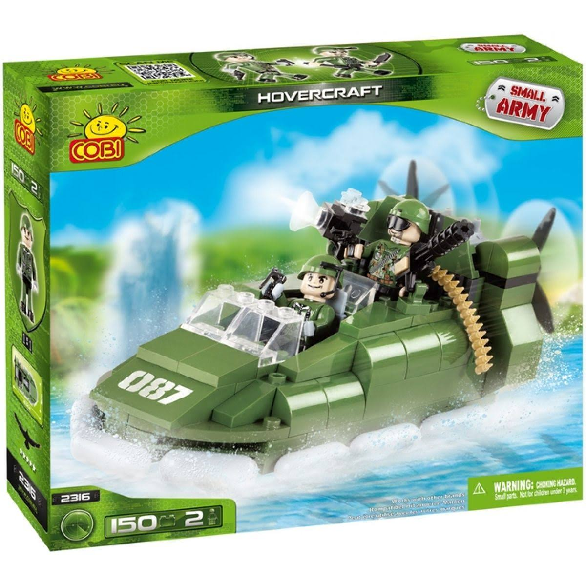 Cobi Blocks Small Army Hovercraft (150 Pieces)