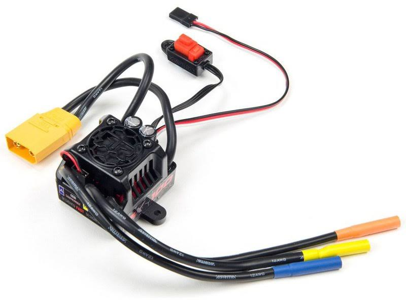 Arrma BLX100 Brushless 10th 3S ESC: 4x4 ARAM0160