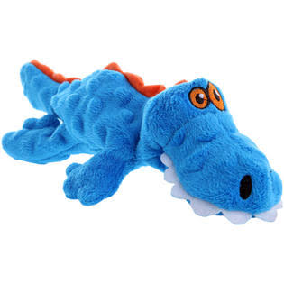 GoDog Gator With Chew Guard - Blue, Small