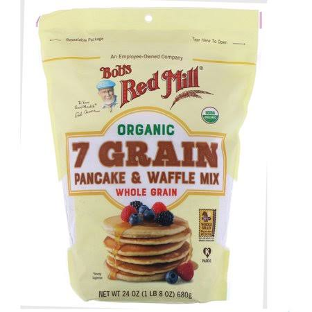 Bob's Red Mill Organic 7 Grain Pancake and Waffle Mix - 24oz