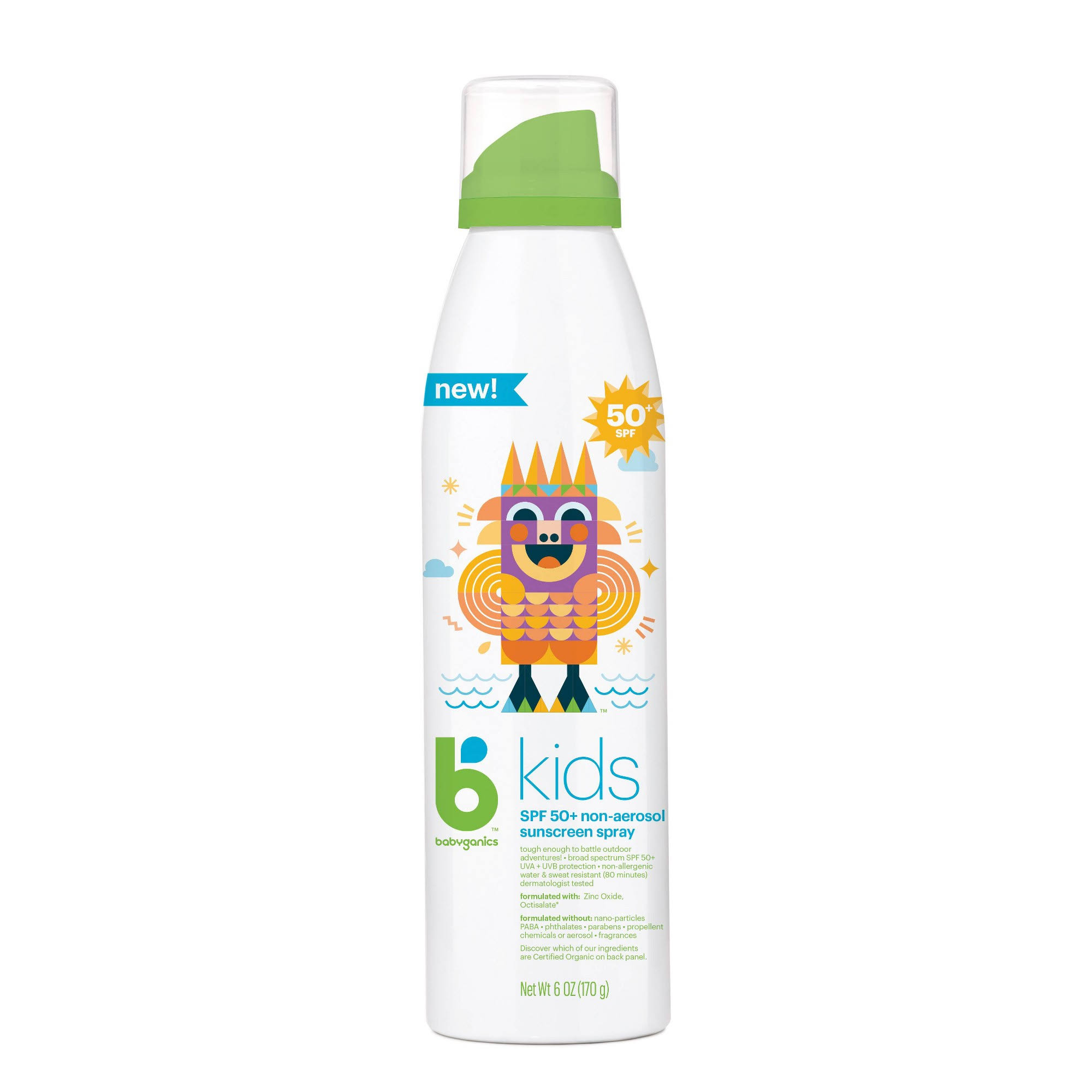Babyganics Kids Sunscreen Spray SPF 50