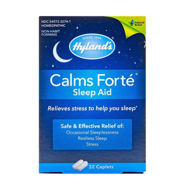 Hyland's Calms Forte Sleep Aid Caplets - 32ct