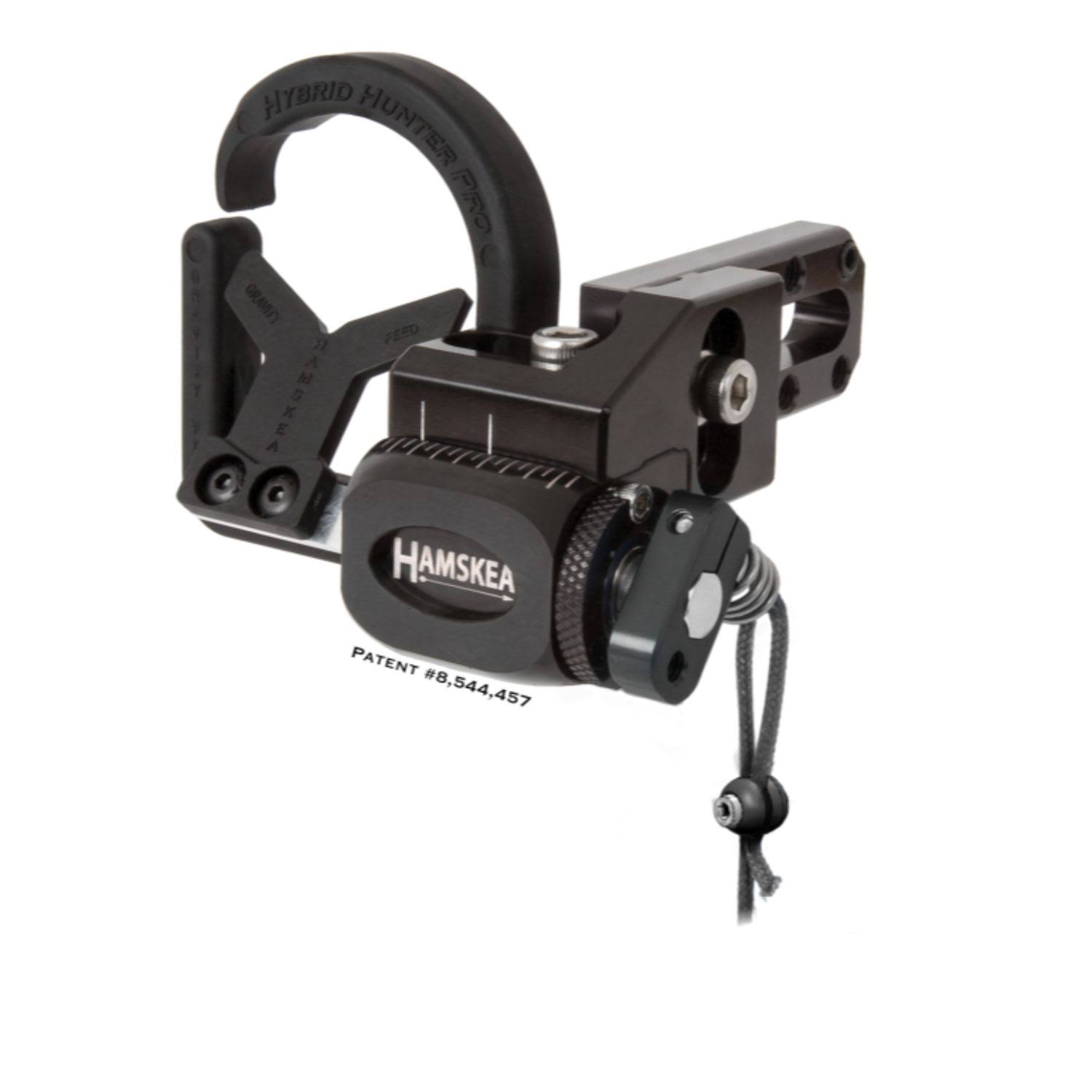 Hamskea Hybrid Hunter Pro Rest - Black, Right Hand