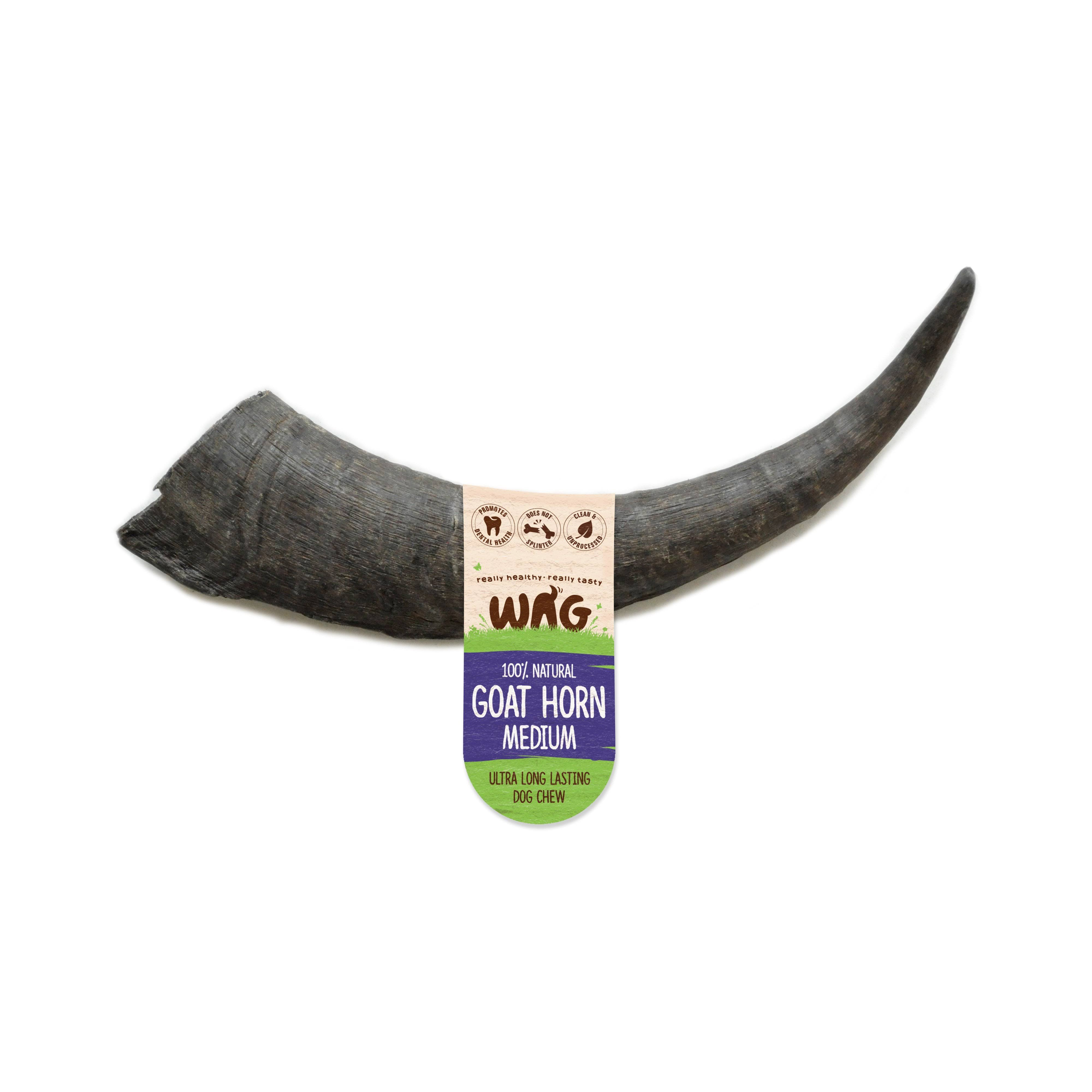 Watch & Grow Dog Treat Goat Horn - Medium