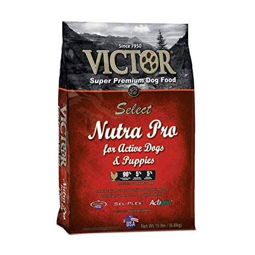 Victor Select Nutra Pro Dry Dog Food, 15-lb Bag