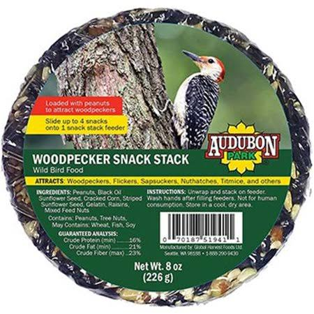 Global Harvest 13141 Woodpecker Audubon Snack Stack