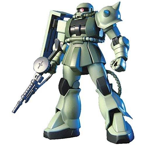 Bandai Spirits HGUC Mass Production Zaku Plastic Model Kit - 1/144 scale