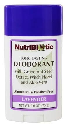 Nutribiotic Deodorant Stick - Lavender, 2.6 oz