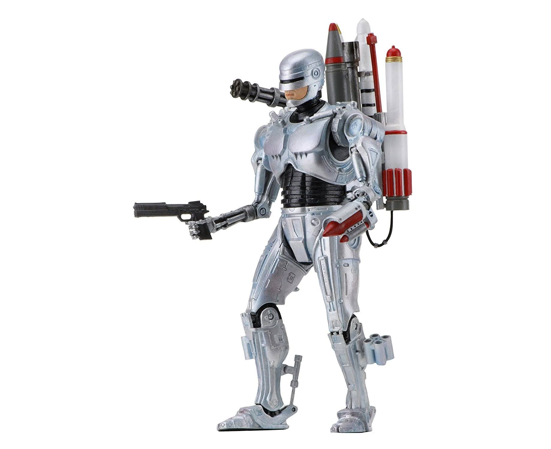 NECA Ultimate Future Robocop Vs Terminator Scale Action Figure - 7""