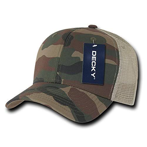 Decky 1054 Wwk Cotton Curve Bill Trucker