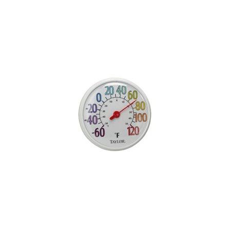 Color Dial Thermometer - 13""