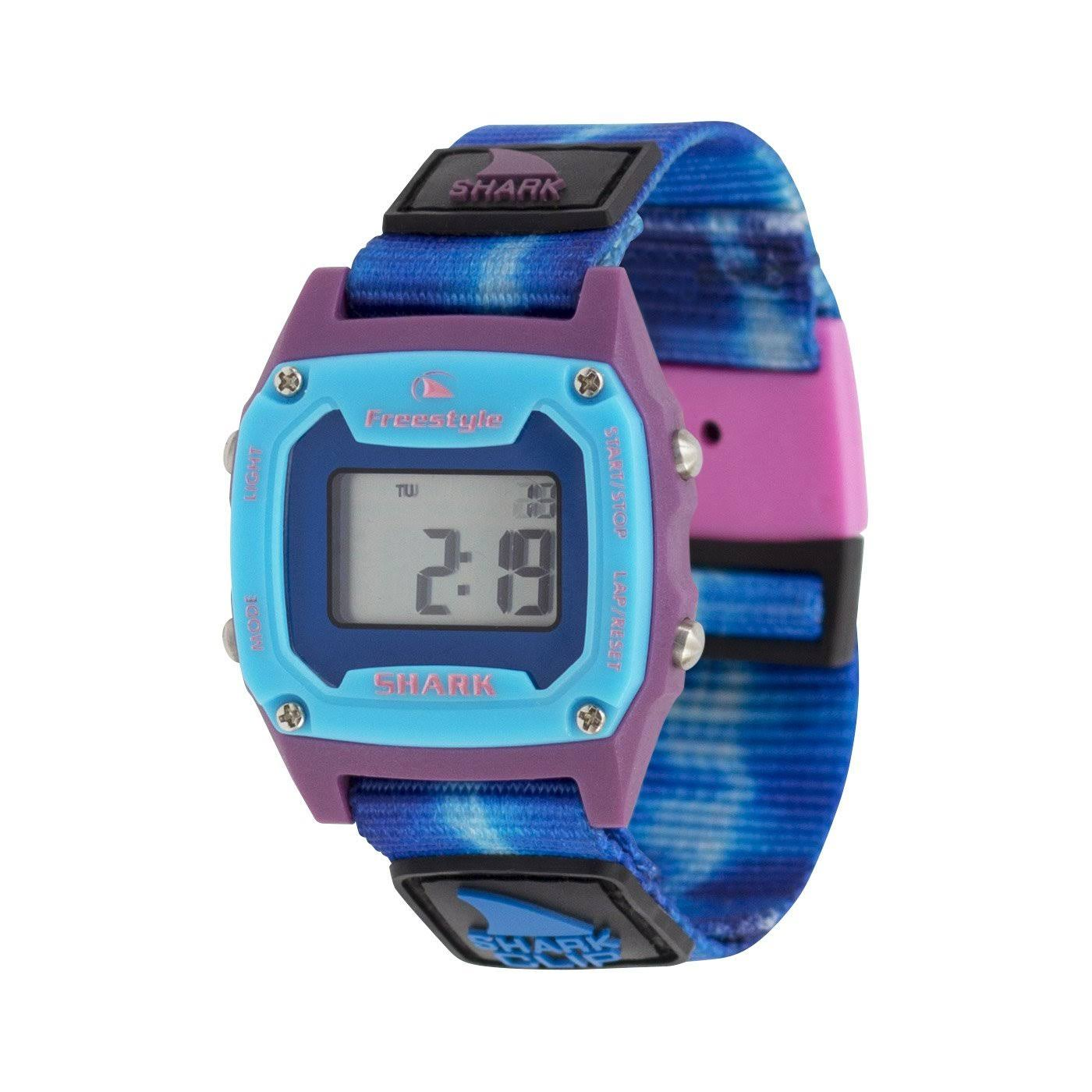 Freestyle Unisex Shark Mini Clip Watch - Tie-dye Blue Sea