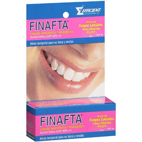 Finafta Liquid for Cold Sores - 0.5oz, Pack of 7