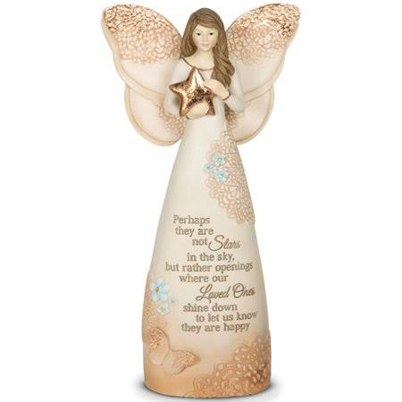Pavilion Gift Company 19045 Light Your Way Memorial Stars in The Sky Angel Figurine - 7 1/2""