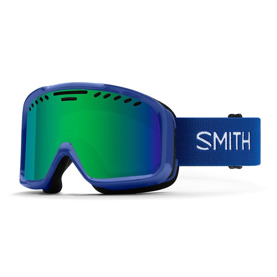 Smith Project Snow Goggles - Klein Blue - Green Sol-X Mirror
