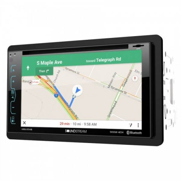Soundstream Vrn-65hb GPS Receiver - With Bluetooth and MobileLink, 6.2""