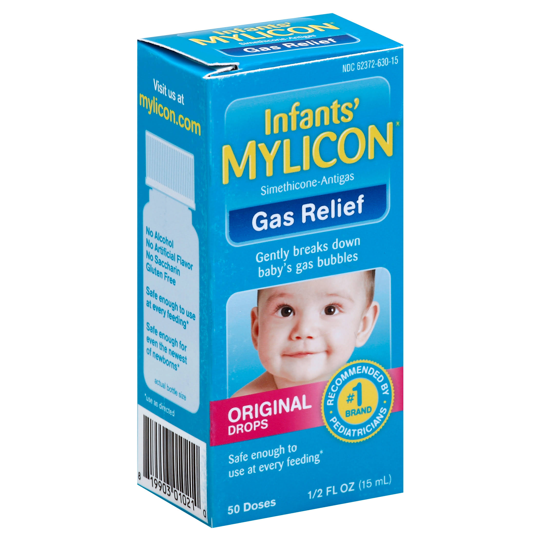Mylicon Infants' Original Drops Gas Relief - 0.5 oz