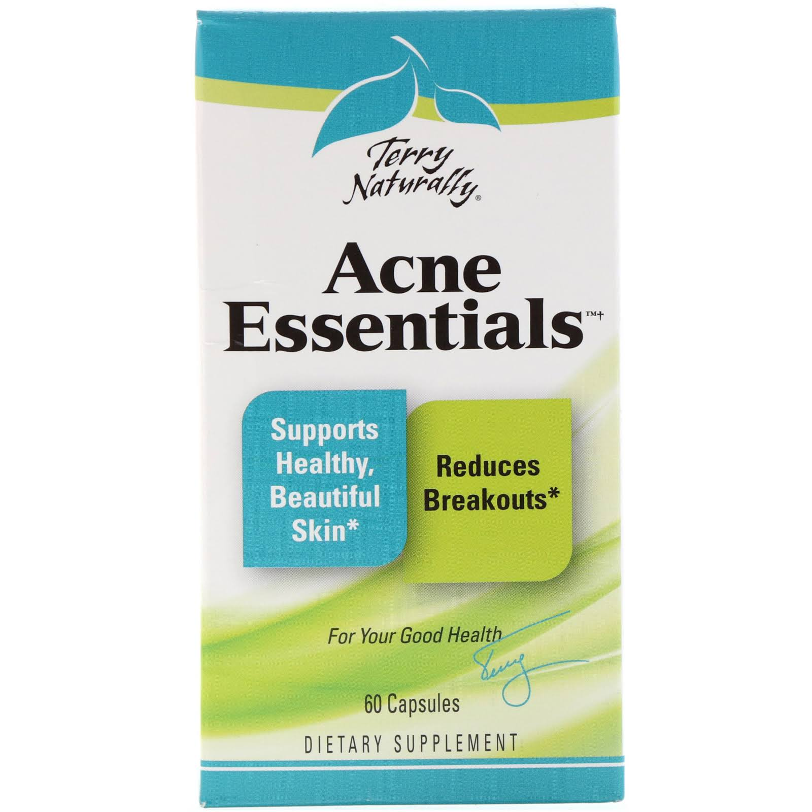 Terry Naturally Acne Essentials Capsule Supplement - 60ct