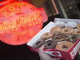 Krispy Kreme Halloween Donuts Calories by The Truth About Krispy Kreme U0027s Light Food U0026 Wine