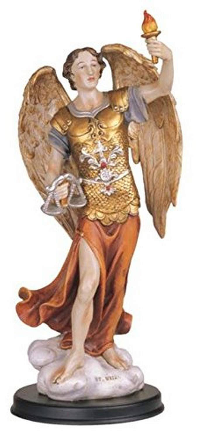 Stealstreet SS-G-212.50, 12 inch Archangel Uriel Holy Figurine Religious Decoration Statue