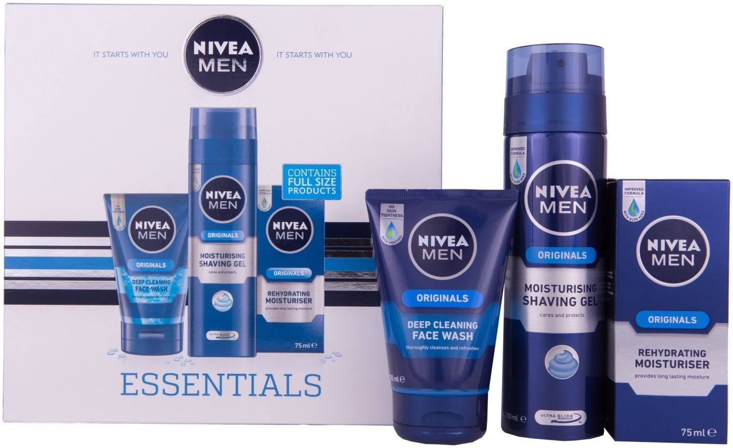 Nivea Men Essentials Gift Set