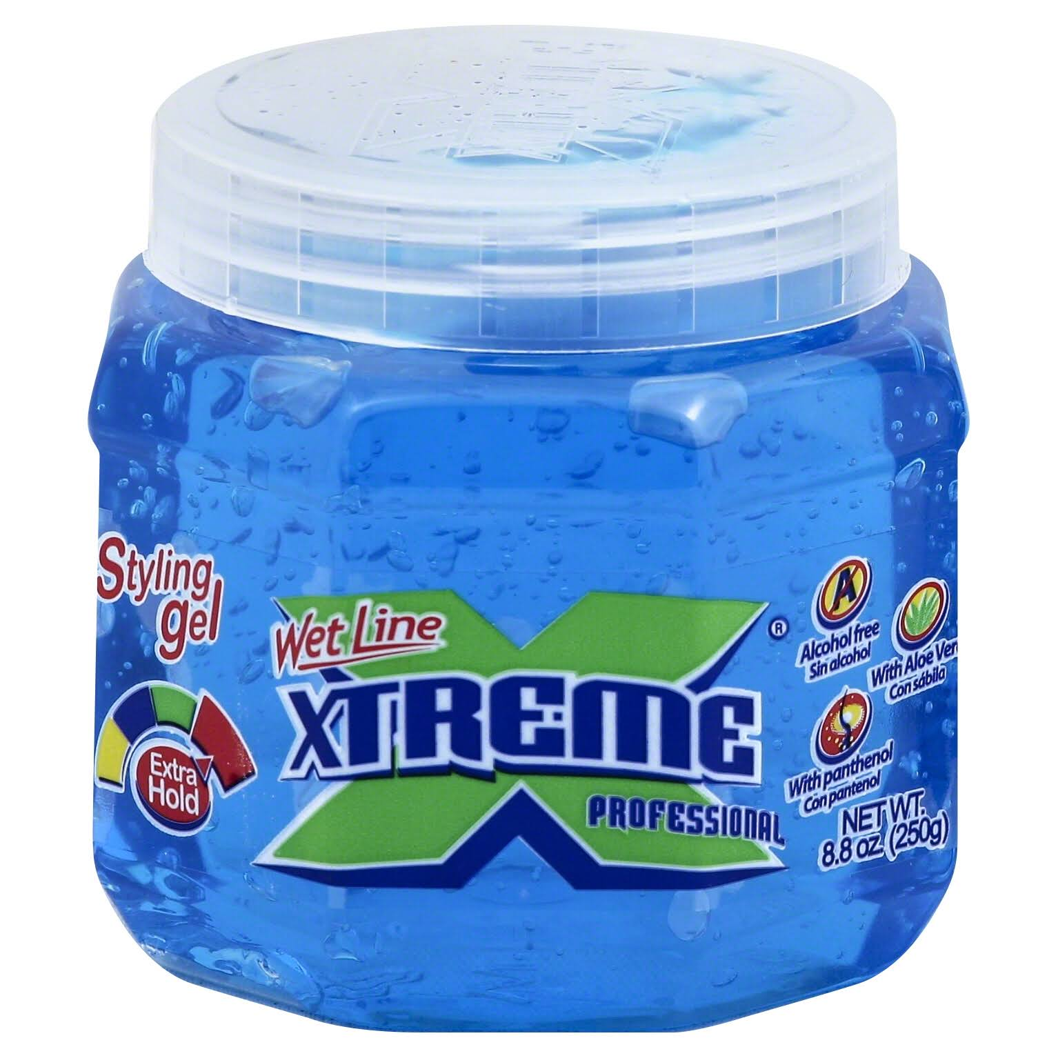 Wet Line Xtreme Professional Extra Hold Styling Gel - Blue