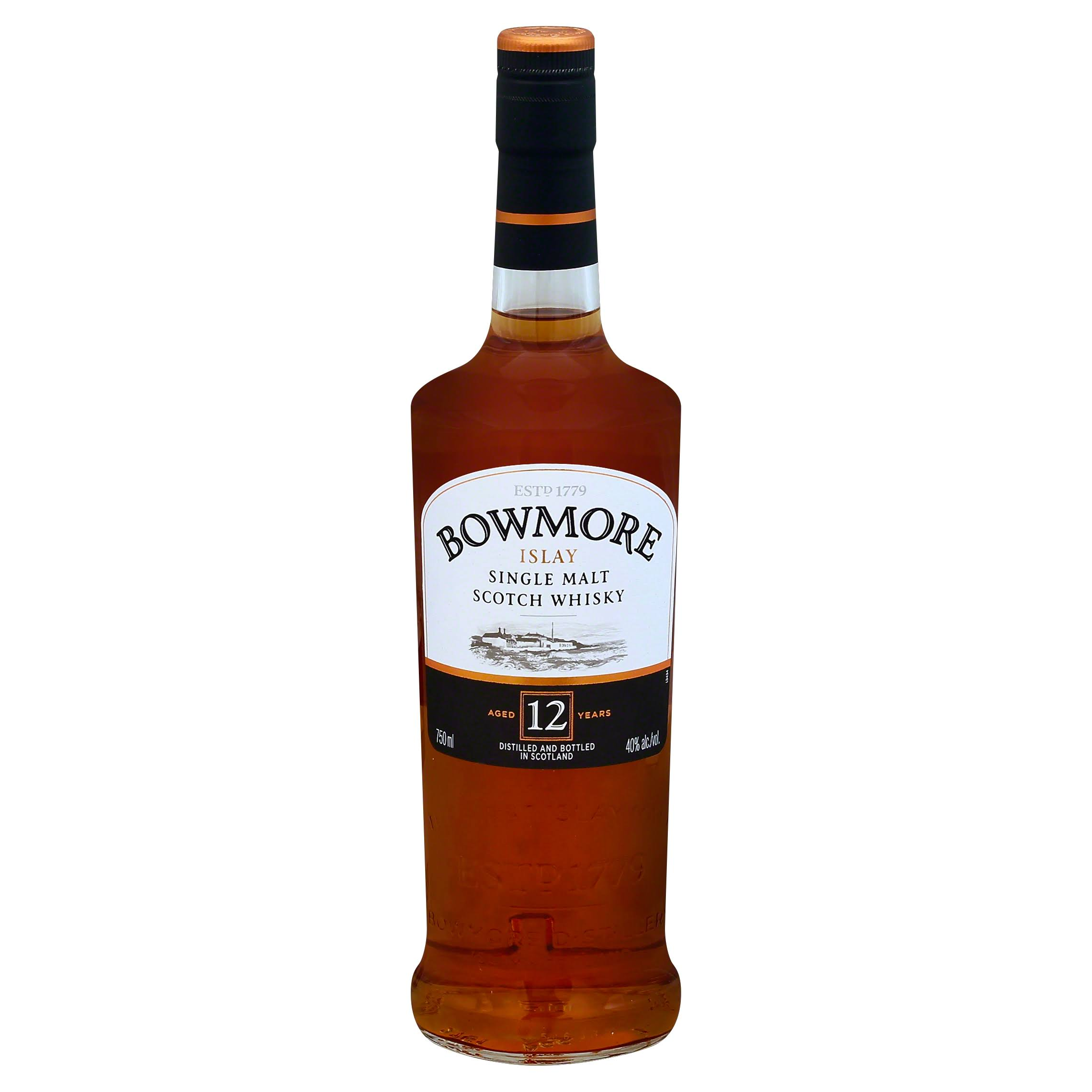Bowmore 12-Year Old Islay Single Malt Whisky