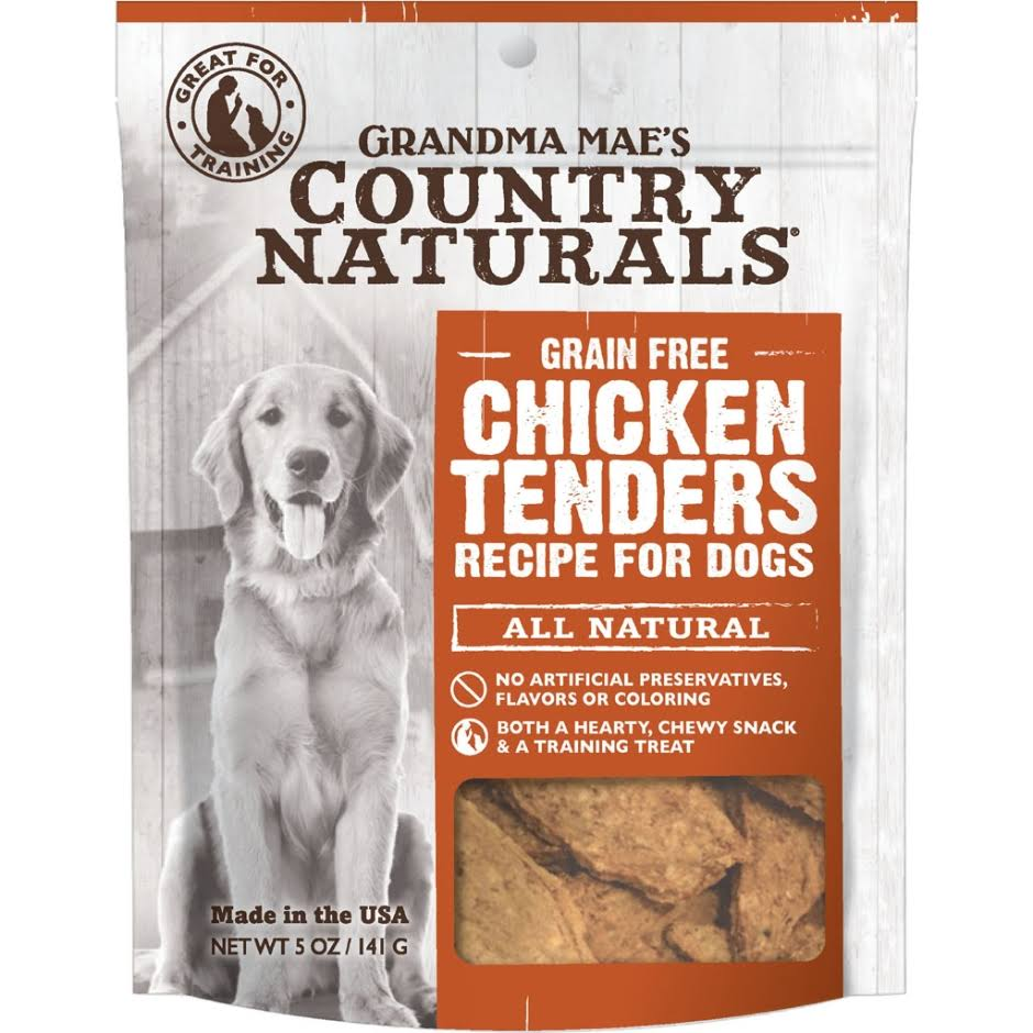 Grandma Mae S Country Nat Country Naturals Dog Treat Chicken 5oz