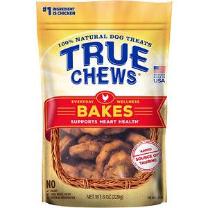 True Chews Everyday Wellness Bakes Dog Treat - 8oz