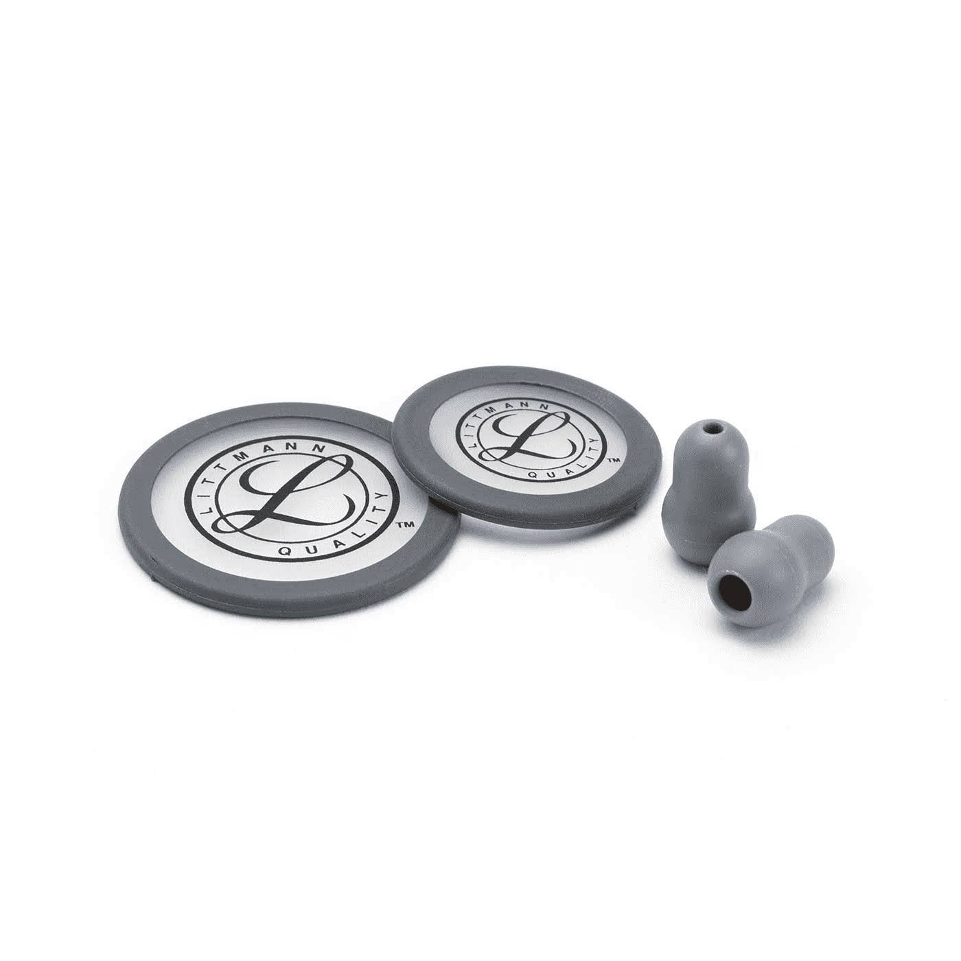Littmann 0707387784010 Stethoscope Spare Parts Kit - Grey