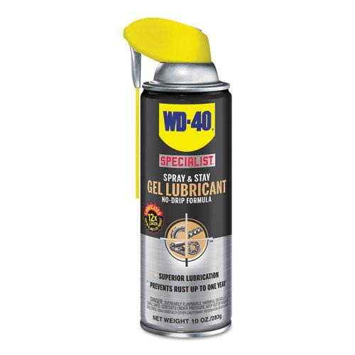 WD-40 Specialist Spray and Stay Gel Lubricant - 10oz
