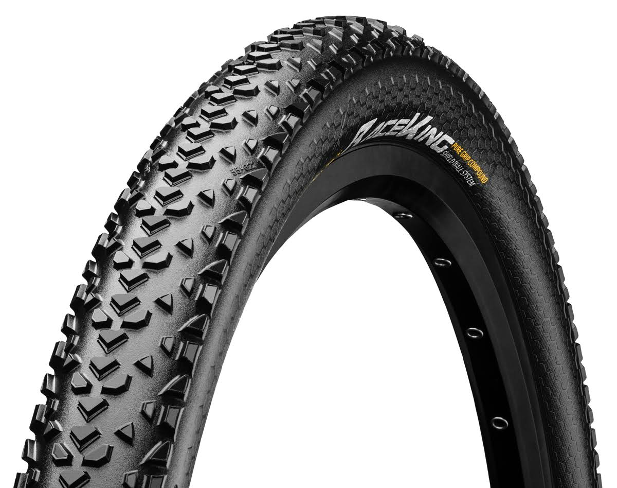 "Continental Race King PureGrip Folding Tyre - Black, 29""x2.2"""